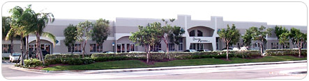 Our manufacturing facility in Sunrise, Florida.
